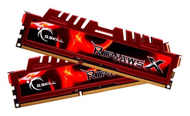 Gskill Ripjaws F3-12800CL10D-16GBXL Memory RAM 16GB (2x8GB) DDR3-1600 240-Pin