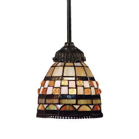 Mix-N-Match 1-Light Pendant In Tiffany Bronze - image 1 of 1