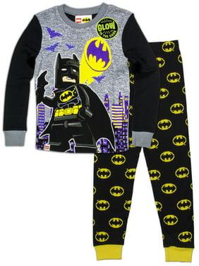 Lego Batman 2 pc Pajama Set(Little Boys & Big Boys)