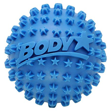 Body Star 2.5 Inch Spiky Foot Massager & Roller Ball by Body Back Company - Deep Tissue Massage Ideal for Plantar Fasciitis, Back Pain Relief, Trigger Point & Myofascial