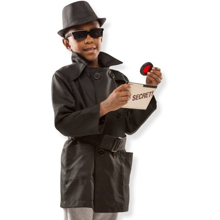 Spy Vs Spy Halloween Costume (Melissa & Doug Spy Role Play)