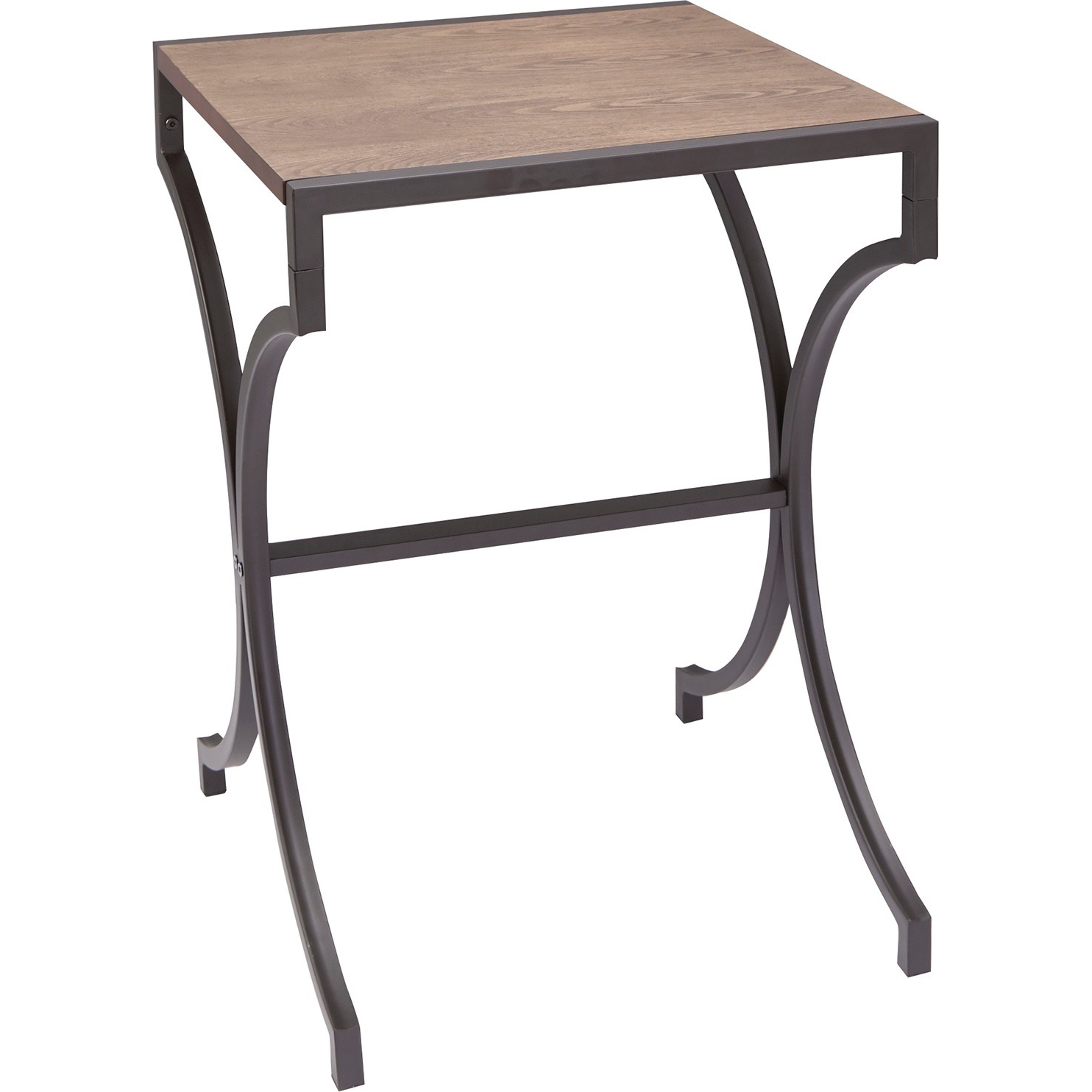Better Homes & Gardens Willow Metal Accent Table, Black Finish