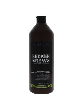 Brews Daily Conditioner by Redken for Men - 33.8 oz Conditioner