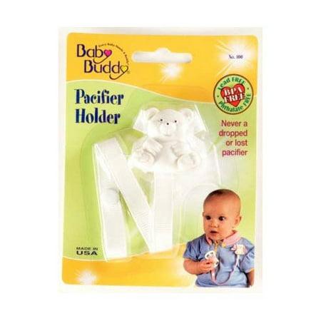 Bear Pacifier Holder - Bear Pacifier Holder Navy Case Pack 18