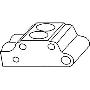 1868734M1K New Massey Ferguson Tractor Hydraulic Pump