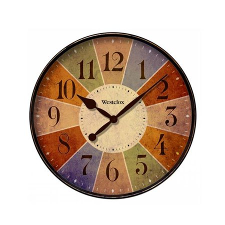 WESTCLOX 32897 32897- 12 in. MULTI COLOR WALL CLOCK - image 1 de 1