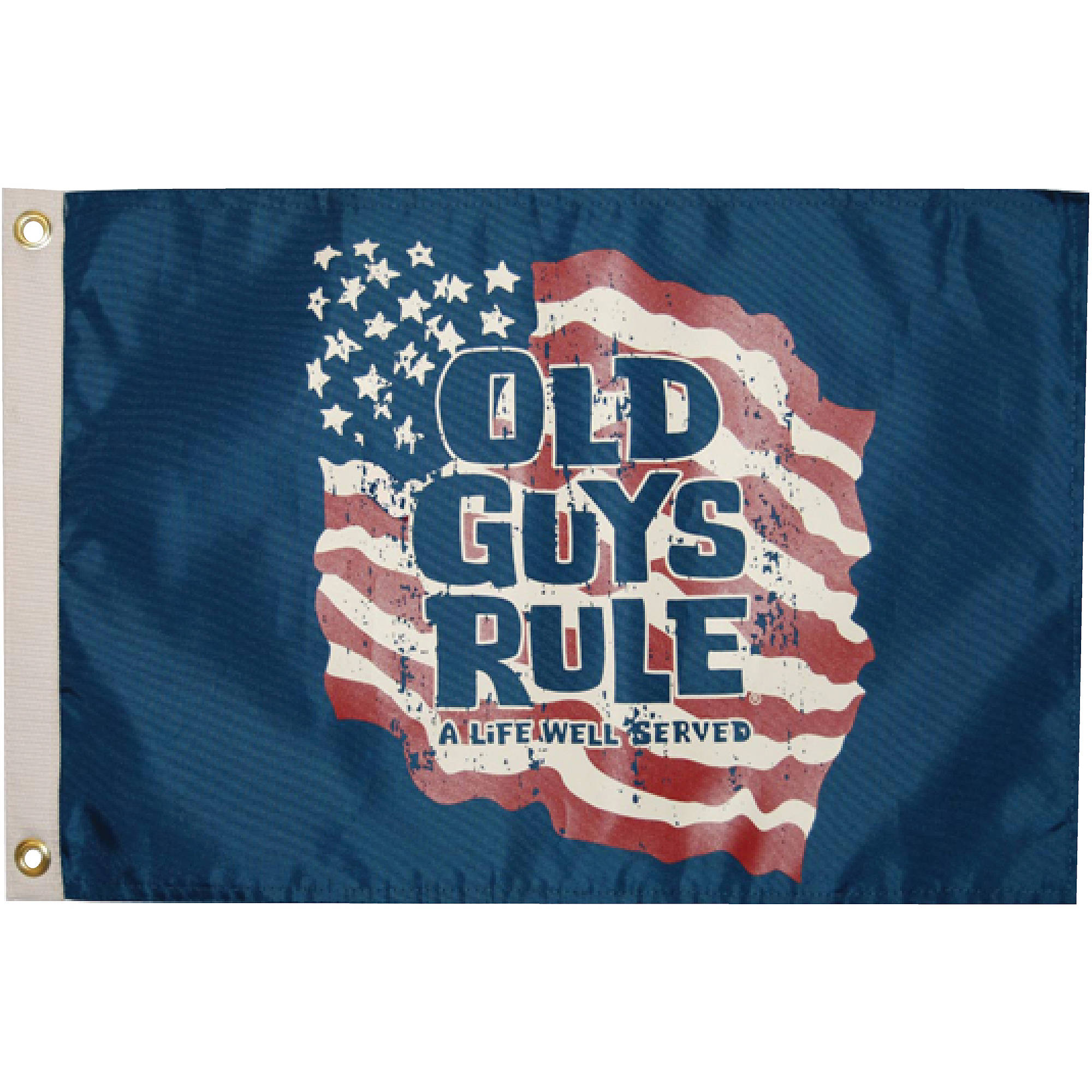 "Taylor ""Old Guys Rule"" Flag, 12"" x 18"""