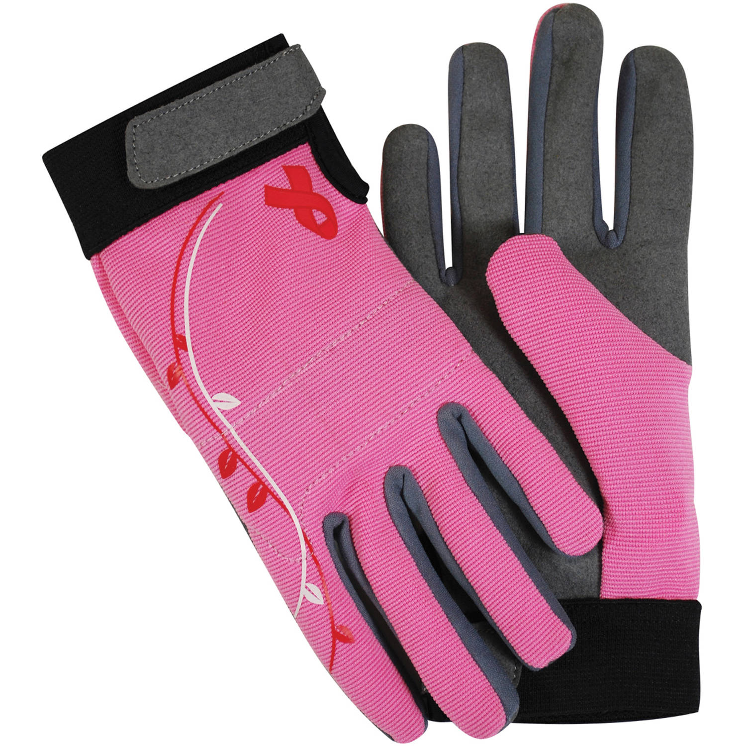 Magid Glove BC251VTS Small Breast Cancer Foundation Spandex Gardening Gloves