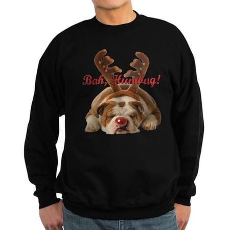 Classic Crewneck Sweatshirt - CafePress - Bulldog Humbug Christmas - Classic Crew Neck Sweatshirt