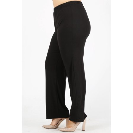 Angel Pant - Plus size women high-waist relaxed pants
