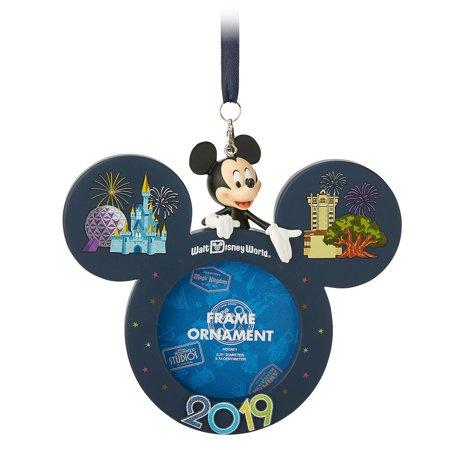 Halloween In Disney World 2019 (Disney Parks Walt Disney World Mickey 2019 Photo Frame Ornament New with)
