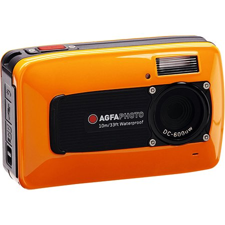 AgfaPhoto DC600UW Orange 6MP Underwater Sports Camera