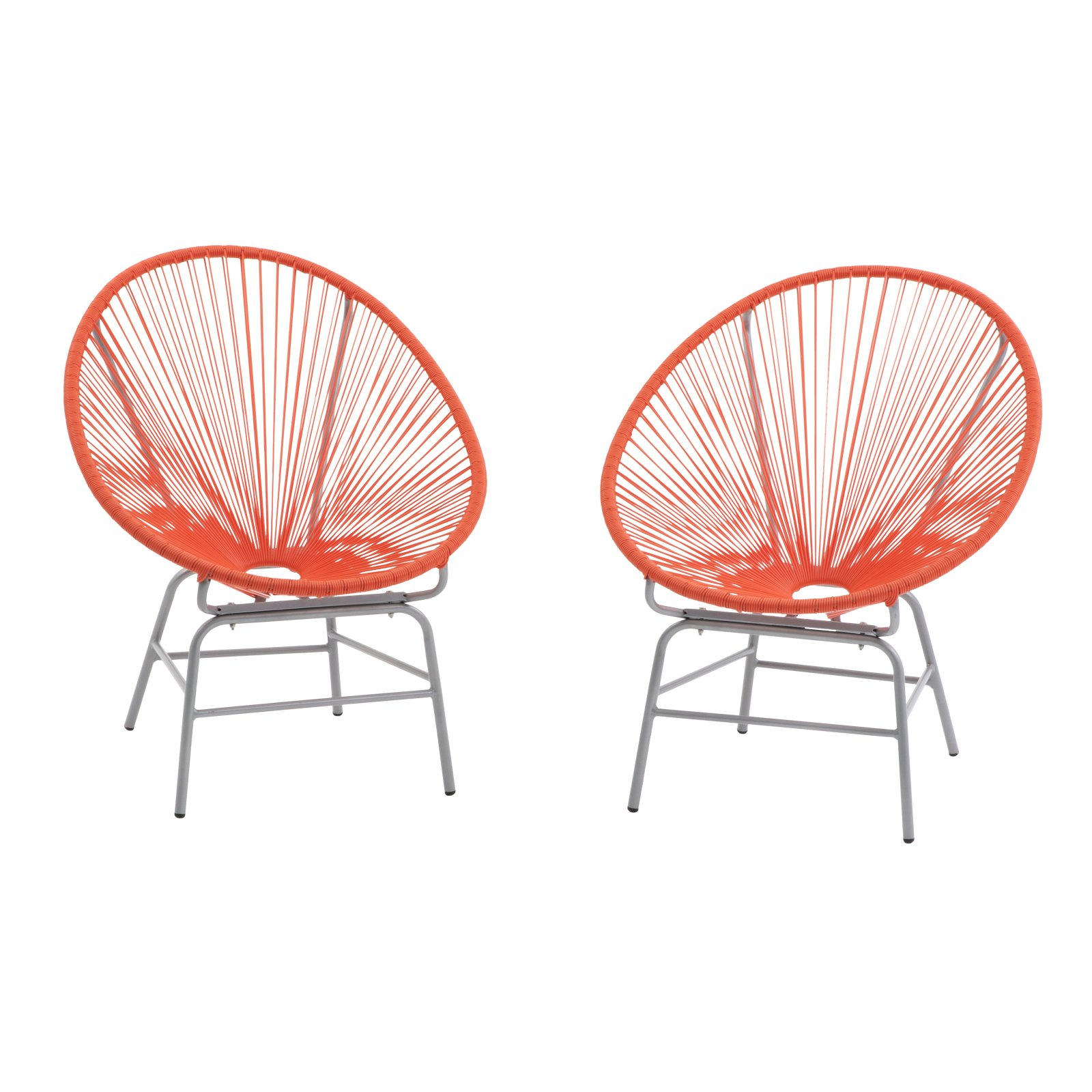 Coral Coast Haley Acapulco All-Weather Wicker Sun Chair - Set of 2