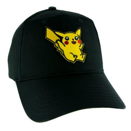 Pikachu Pokemon Go Hat Baseball Cap Alternative Clothing Nintendo (Hut Clothing)