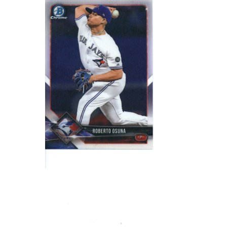 2018 Bowman Chrome #62 Roberto Osuna Toronto Blue Jays Baseball - Toronto Blue Jays Baseball Cards