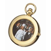 Hunter Case Picture Frame Mechanical Pocket Watch