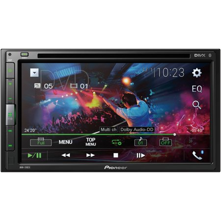Pioneer AVH-310EX 6.8-inch Double-DIN In-dash Car Stereo DVD Receiver With Bluetooth (Pioneer Remote Car Stereo)