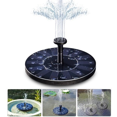 - Solar Water Pump, Start-up Fast Efficient and Strong Stability for Bird Bath,Fish Tank,Small Pond,Garden Decoration,Water Circulation for Oxygen,etc