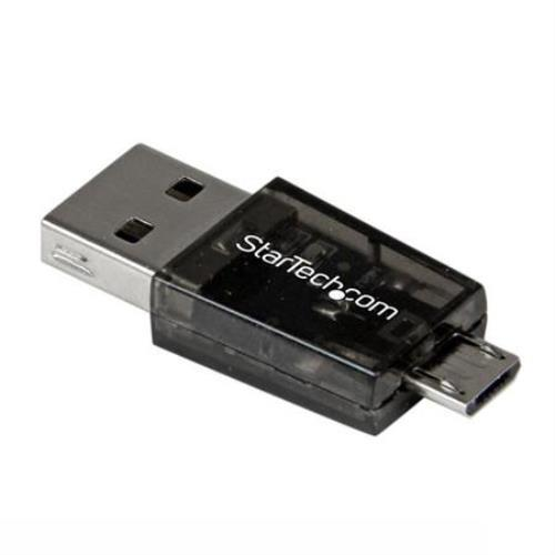 Startech Micro SD to Micro USB / USB OTG Adapter Card Reader