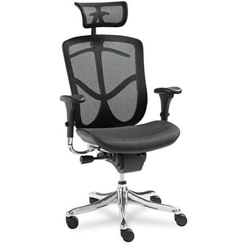 Alera EQ Series Ergonomic Multifunction High-Back Mesh Chair