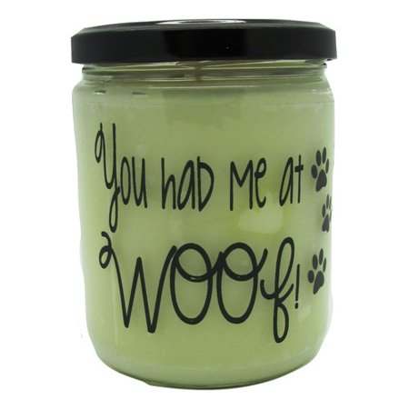 Star Hollow Candle Company You Had Me At Woof Buttery Maple Syrup Jar