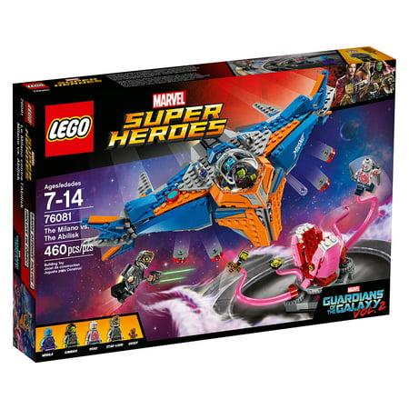 Lego Super Heroes The Milano Vs The Abilisk 76081 Walmart