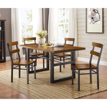 Better homes and gardens mercer dining table vintage oak - Better homes and gardens mercer dining table ...