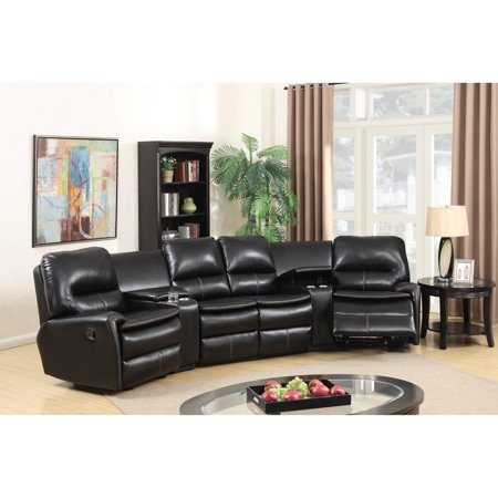Best Master Furniture Saratoga Springs 5 Piece Sectional Sofa ...