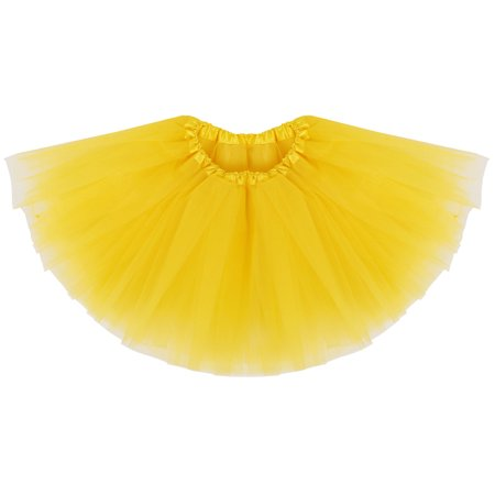 94051c174e8f BASILICA - Girls Tutu Children s 4 Layered Tulle Princess Ballerina ...