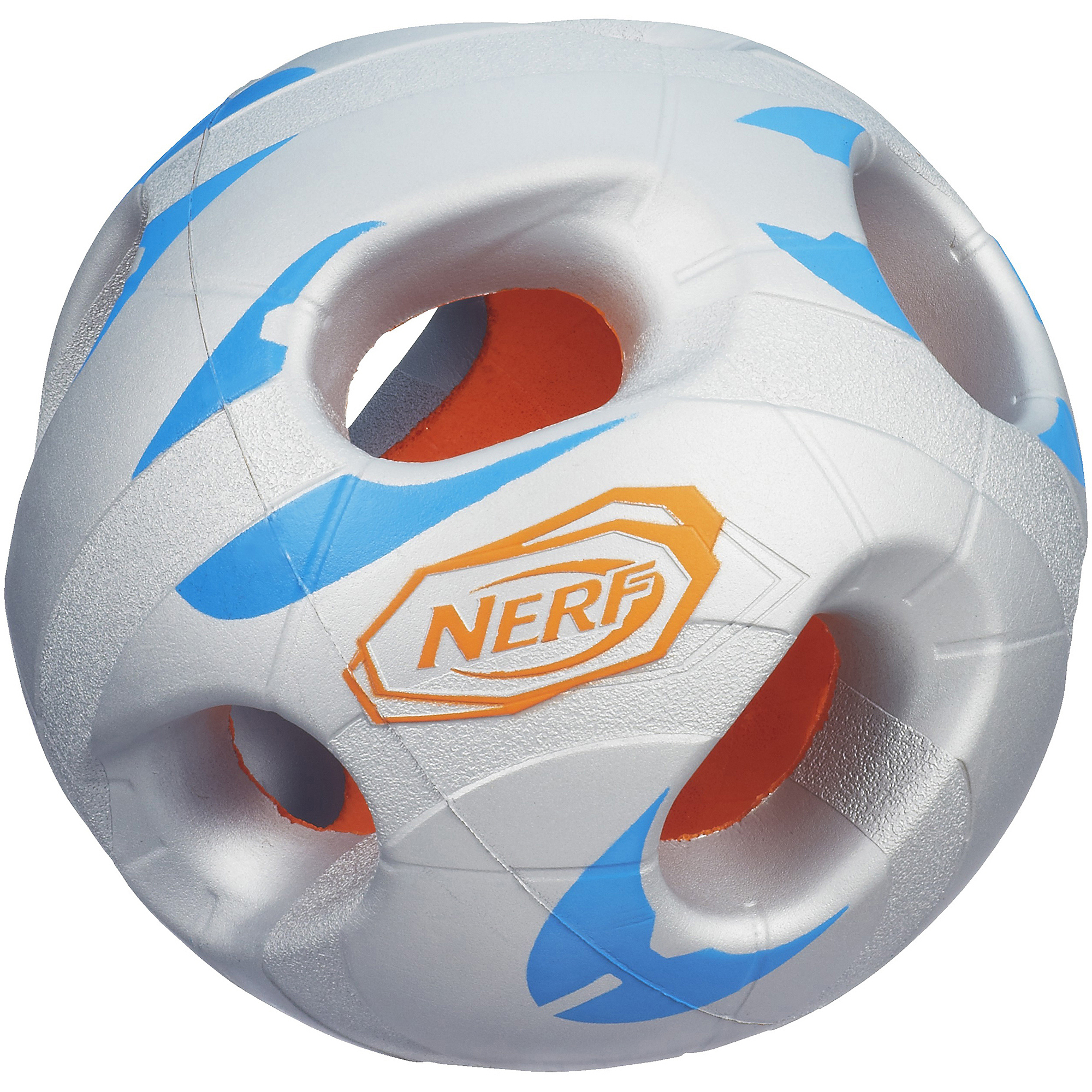 Nerf Sports Bash Ball, Silver