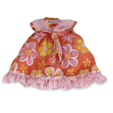 Baby Doll Clothes At Walmart New BABY DOLL CLOTHES ORANGE FLORAL Walmart