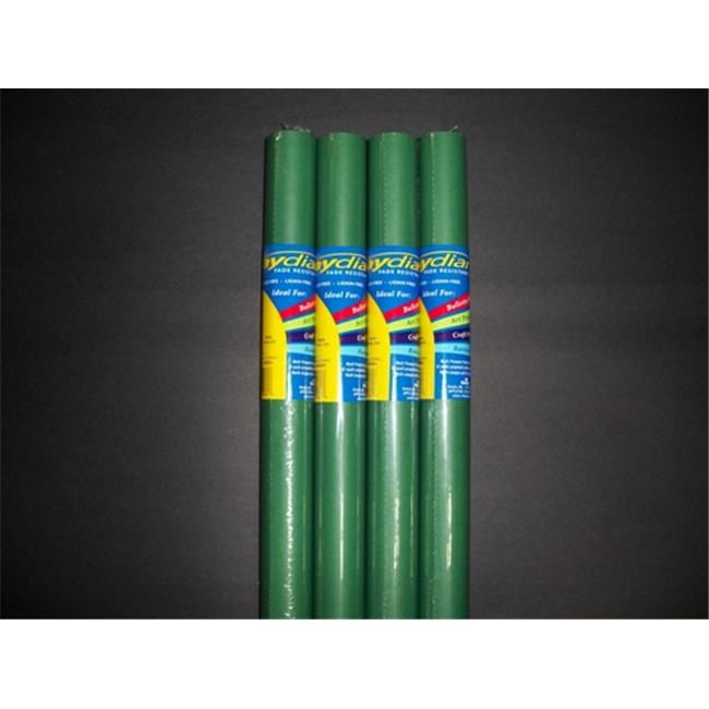 RiteCo Raydiant 80117 Riteco Raydiant Fade Resistant Art Rolls Holly Green 48 In. X 50 Ft. 4 Pack
