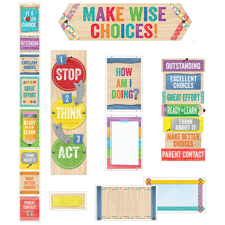 BEHAVIOR CLIP CHART MINI BB SET UPCYCLE - Classroom Behavior Charts