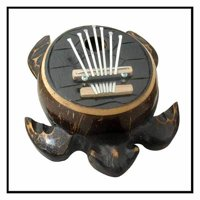 Stoneage Arts Handmade Karimba Turtle Natural (Indonesia)