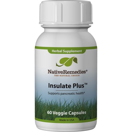 NativeRemedies Insulate Plus Insulin Vegetable Tablets, 60 Ct