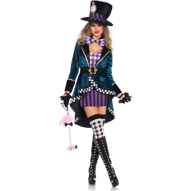 Leg Avenue Adult Delightful Hatter 5-Piece Costume