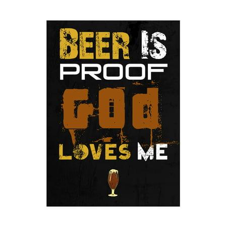 Beer Is Proof God Loves Me Print Foaming Beer Mug Picture Fun Drinking Humor Bar - Fun Beer Mugs