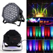 Par Lights with 72W 36 LEDs RGB Wash by IR Remote and DMX Control for Stage Lighting