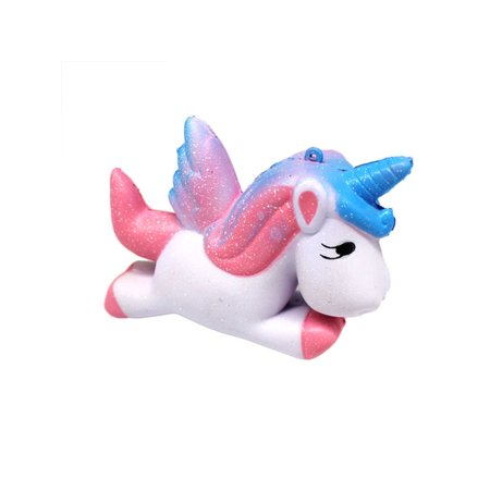 Unicorn Jumbo Slow Rising Squishies Scented Charms Squeeze Toys Stress Reliever