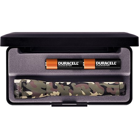 Mini MagLite AA Flashlight with Presentation Box, (Minimag Aa Flashlight)