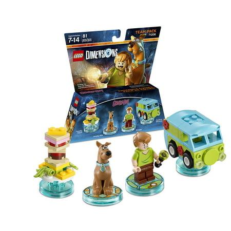 LEGO Dimensions Scooby Doo (Scooby Doo) Team Pack (Scooby Doo Block Long Hong Kong Terror)