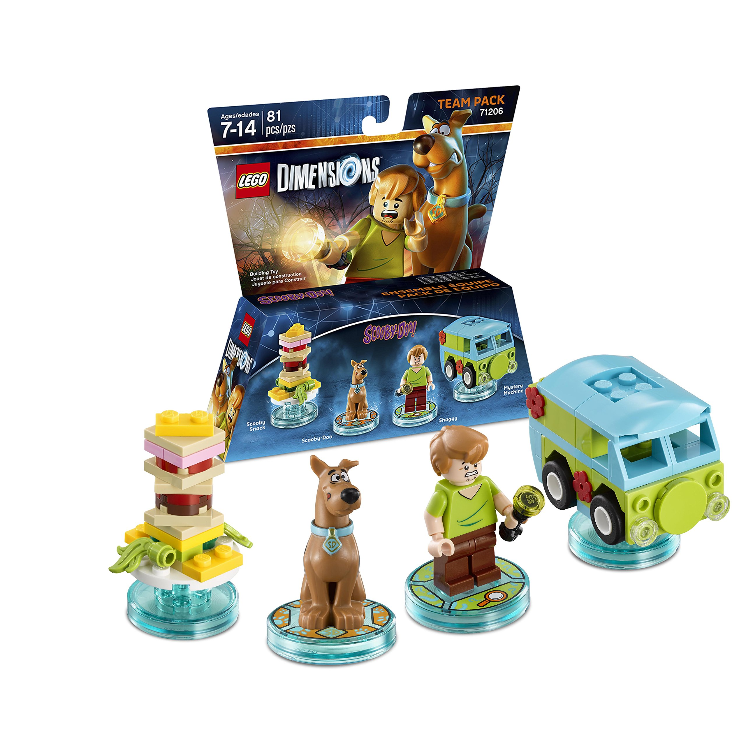 LEGO Dimensions Scooby Doo (Scooby Doo) Team Pack (Universal)