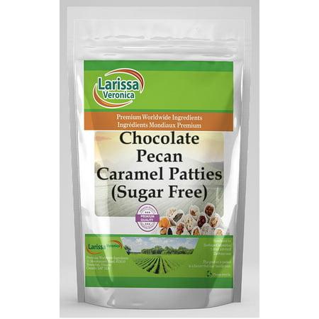 Chocolate Pecan Caramel Patties (Sugar Free) (4 oz, ZIN: 525762)