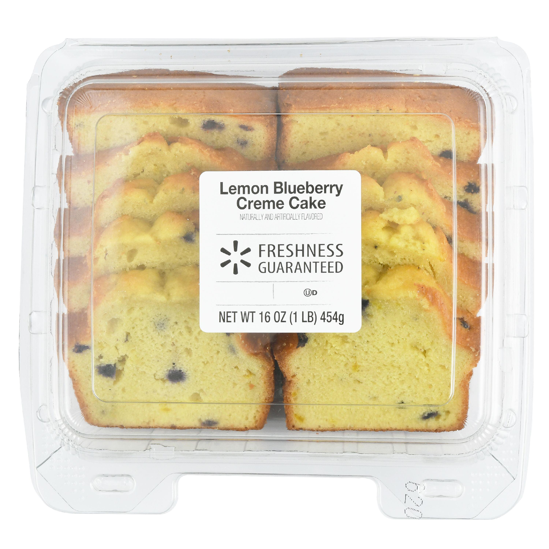 The Bakery Lemon Blueberry Creme Cake, 16 oz