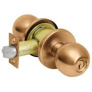 CORBIN CK4255 GRC 612 Door Knob Lockset,Round,Classroom