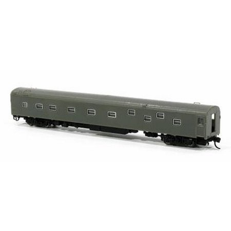 Rapido Trains 501089 N Undecorated Duplex Sleeper with Fixed Steps