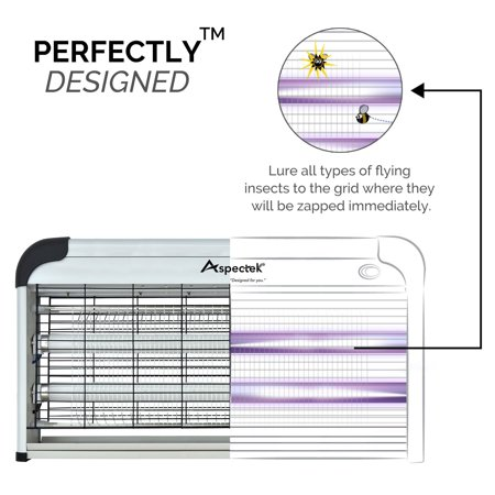 The Original Powerful 40W Electronic Indoor Insect Killer, Bug Zapper, Fly Zapper, Mosquito Killer By Aspectek