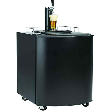 - Igloo 4.5 cu ft Kegerator Beer Bar, Black