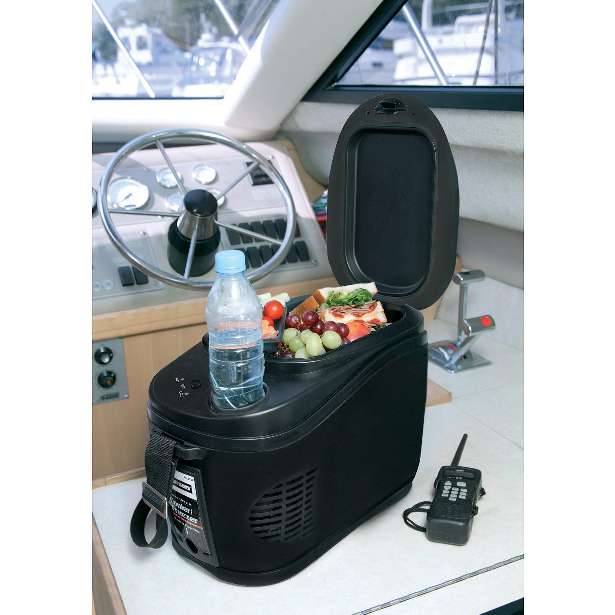 Black Decker 12 Volt 1 6 Gallon Travel Cooler Ebay