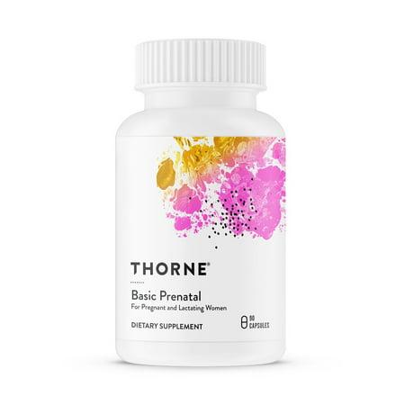 Thorne Research - Basic Prenatal - 90 Vegetarian Capsules ()